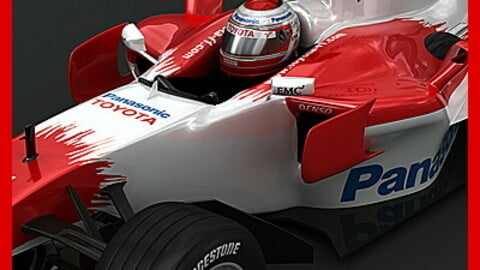 F1 2008 Toyota TF108