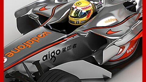F1 2008 Vodafone McLaren Mercedes MP4-23