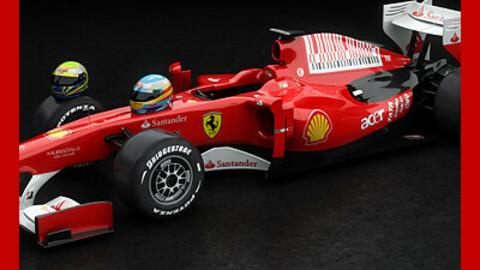 F1 2010 Ferrari F10