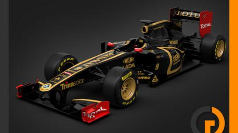 F1 2011 Lotus Renault GP R31