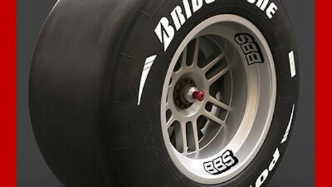F1 Wheel Rim Brake Slick