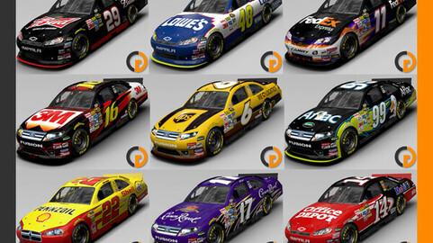Nascar 2011 Cars