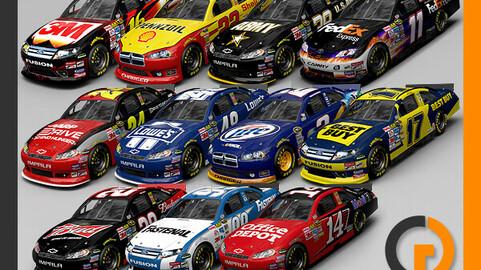 Nascar 2012 Cars