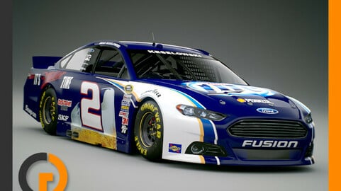 Nascar 2013 Car - Brad Keselowski Ford Fusion #2