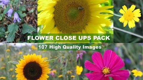 Flower Close Ups Pack