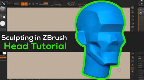 Sculpting Heads in Zbrush Tutorial