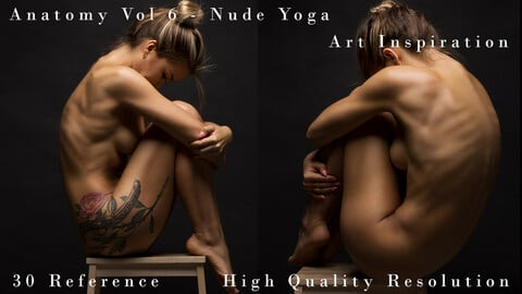 Anatomy Vol 6 - Nude Yoga - Art Inspiration