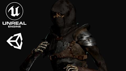 Skeleton Rogue - Game Ready