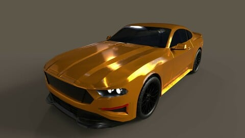 2018 Ford Mustang Variant (Optimized)