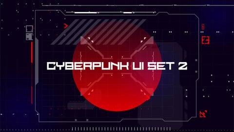 CyberPunk UI Set 2
