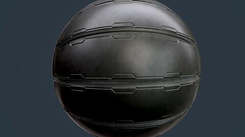 Sci-Fi Military Seamless PBR Texture 103