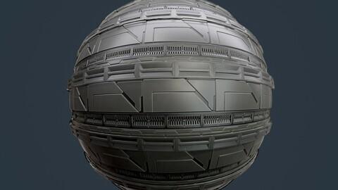 Sci-Fi Military Seamless PBR Texture 105