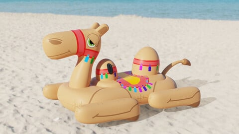 Camel Inflatable Toy
