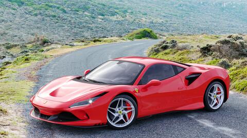 Ferrari F8 Tributo Full 3d scene