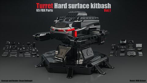 Turret Hard Surface kitbash