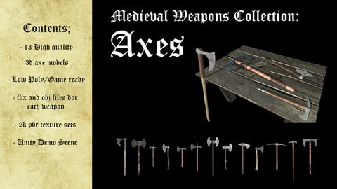 Medieval Weapons Collection - Axes