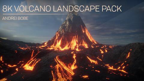 8K Volcano Landscape Pack