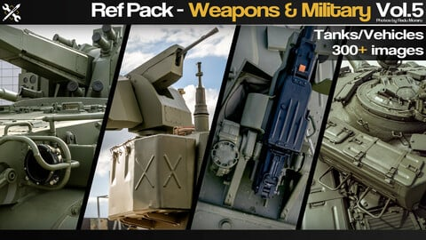 Ref Pack - Weapons & Military Vol.5