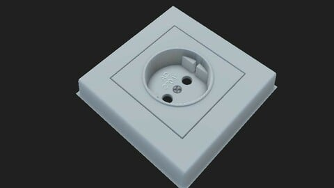 Home Type Socket    ( Free Texture )