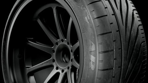 Goodyear Eagle F1 Stance Tire (Real World Details)