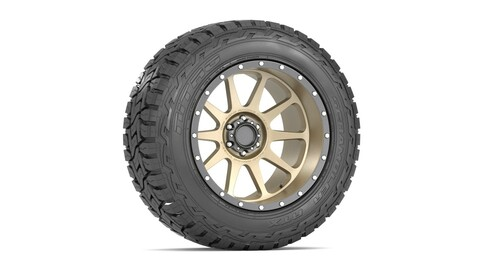 OFF ROAD WHEEL AND TIRE 14