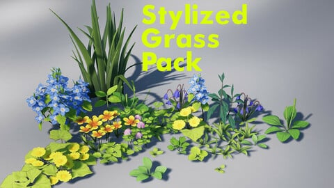 Stylized Grass Pack