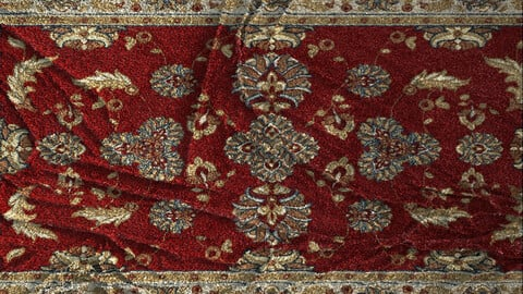 Reality Rug Generator .Sbsar Material + RugModel.Fbx for Substance Painter & Marmoset Toolbag