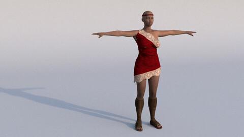African Female 02