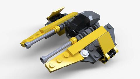 Lego Jedi Starfighter
