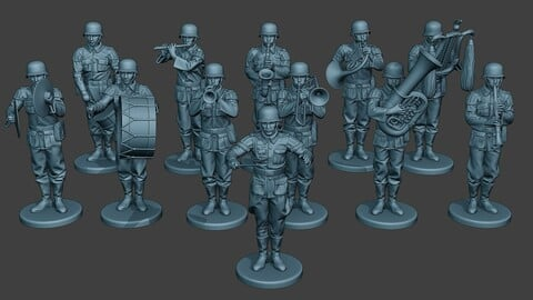 German soldiers Military Band Pack1 ww2 G8
