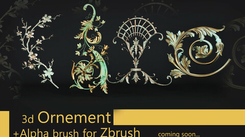 46 Alpha Brush for ZBRUSH VOL 1.0