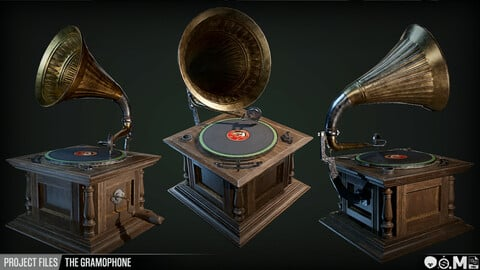 Project Files | The Gramophone