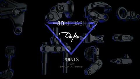 DARMAR 3DKITBASH   JOINTS : SUB-D