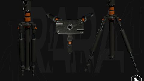 Tripod - Gameready 3D Model