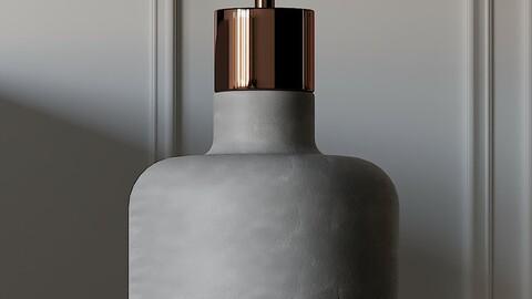 COX & COX Concrete & Copper Pendant