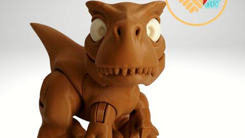 Boon The Tiny T-Rex - STL Digital Files - 3D Printing