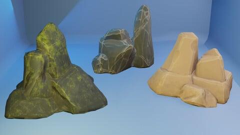 Rocks Stilyzed