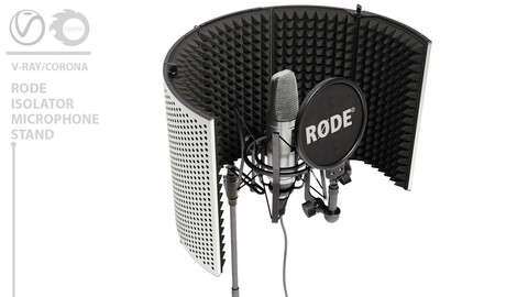 RODE isolator microphone stand