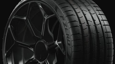 P ZERO™ (PZ4) Pirelli Low Profile (Real World Details)