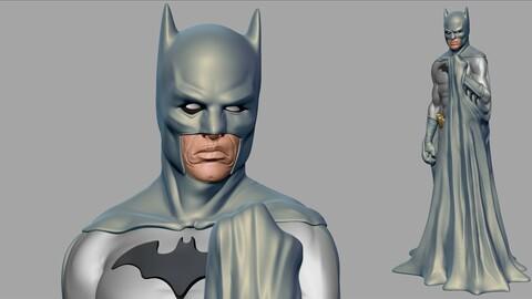 Batman STL 3d Printable Figure