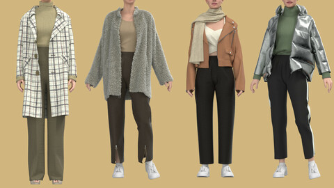 Collection Of Female Outfits