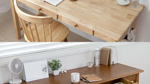 Wood desktable (1200/1500/1800)