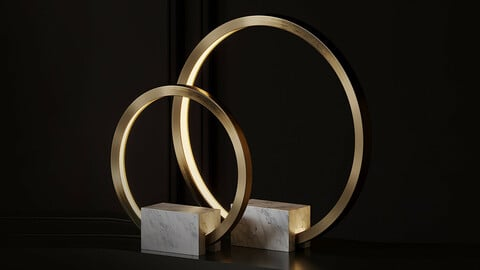 Portal Table Lamp by Christopher Boots