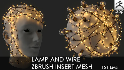 Lamp and Wire IMM curve brush + free how to use video