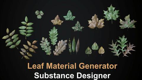 Leaf/Foliage Generator - Substance Designer