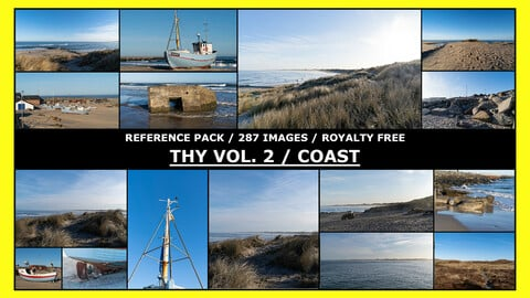 THY VOL.2 - NORDIC COAST / Photo Reference / 287 images