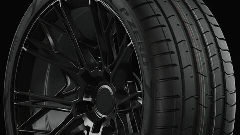 P ZERO™ (PZ4) Pirelli Standard Profile (Real World Details)