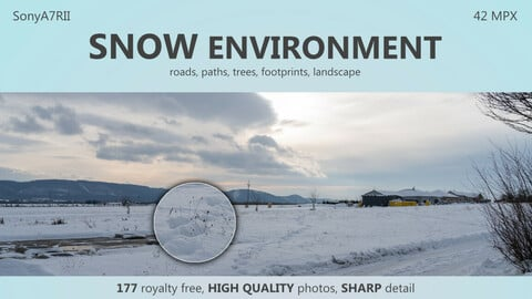 SNOW environment - 177HIGH QUALITY photos, 42 MPX