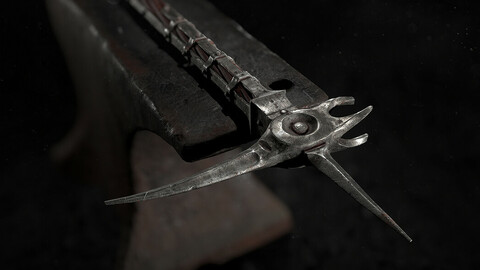 Medieval Battle Hammer