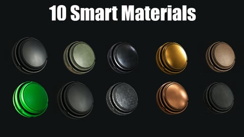 10 Smart Materials Polymer, Metal Weapon, Plastic Weapon, Copper and MORE!